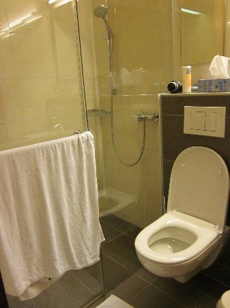 Torkelbundte Hotel Garni: Das WC und Dusche