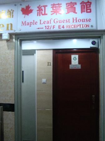 Maple Leaf Guest House: Front of the Guesthouse