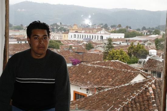 Hotel Hacienda Los Morales: La hermosa vista de mi habitación