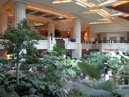 Grand Hyatt Dubai: atrium