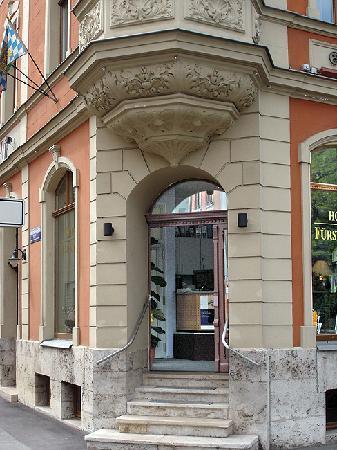 Hotel Fürstenhof am Bauhaus: Eingang