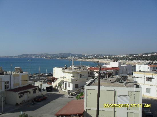 Lomeniz Hotel: Balcony sea view