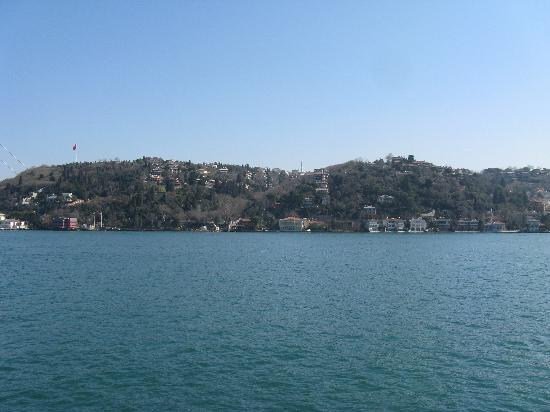 Hotel Sapphire : A view of old Istanbul from Bosporus cruise