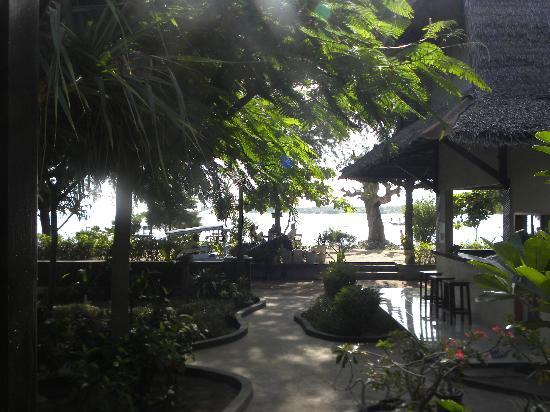 Good Heart Resort: View from our hut