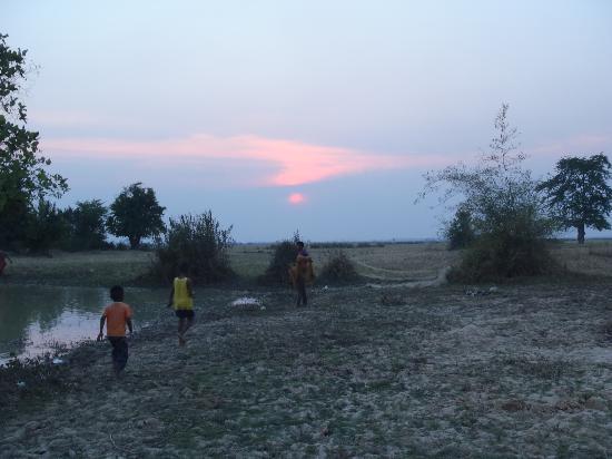 Traditional Khmer Dance at ACODO Orphanage: ACODO FArm