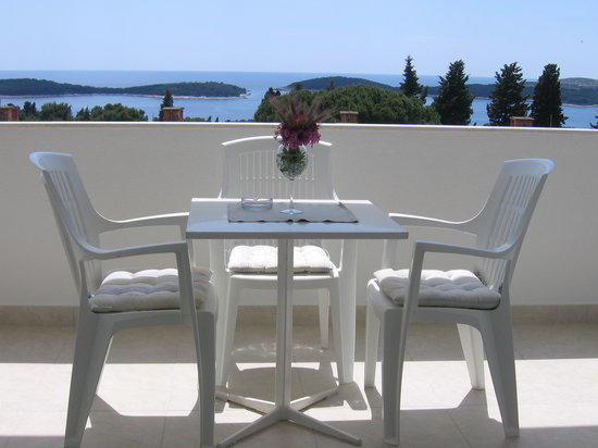 Violeta Hvar: View from the terrace