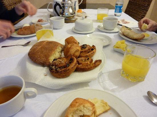 Riad BB Marrakech: Breakfast!
