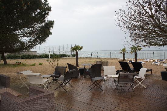 Ronce-les-Bains, Frankrijk: coin détente agréable