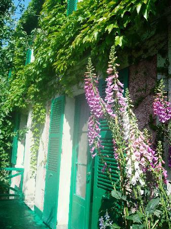 Giverny, Frankrig: Monet's house