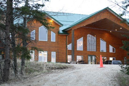 Manitoba, Canada: pinewood lodge