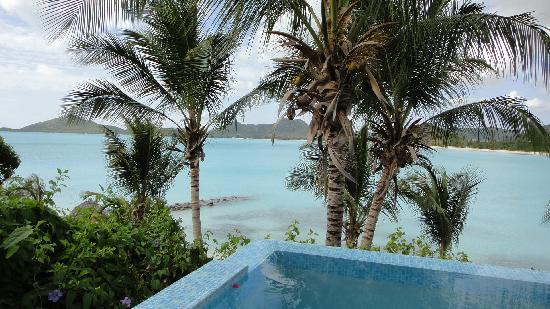 Cocobay Resort: View from the balcony of room 3