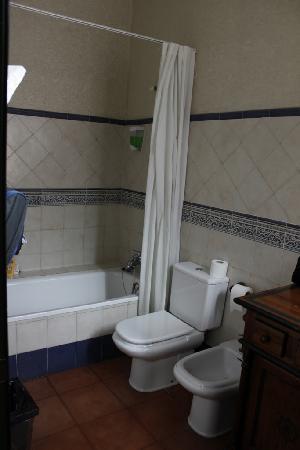 Plaza Nueva Hotel: Toilet