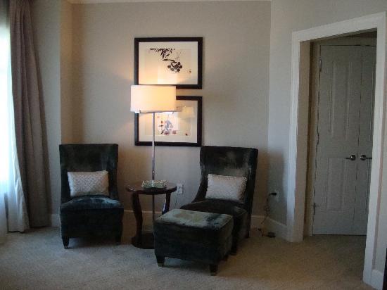 Mandarin Oriental, Atlanta: Bedroom 1 - Sitting area