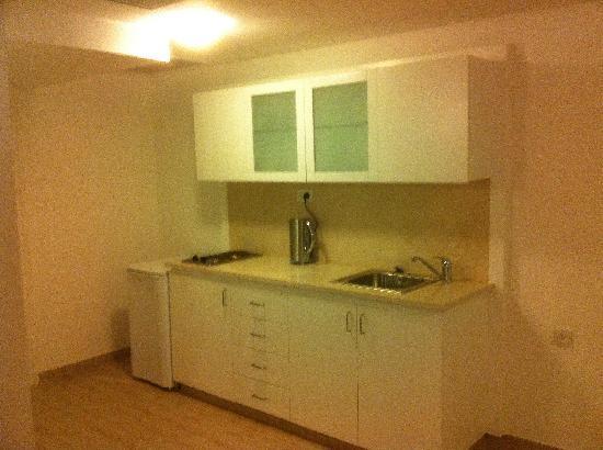 The Diaghilev, LIVE ART Boutique Hotel: kitchen