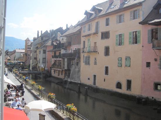 L'auberge du Lyonnais : Vue de ma chambre