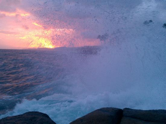 Poipu Makai: View from the rocks below