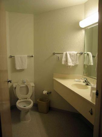 Motel 6 Springfield: Large Bathroom