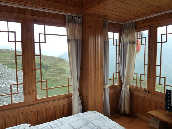 "Long Ji One Hotel: The ""Best view"" corner room"