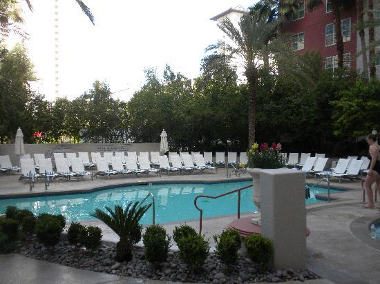 Hilton Grand Vacations at the Flamingo: HGVC-F Private Pool 1 of 2