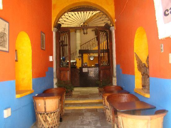 Hostel Casa del Angel: El café del hostel