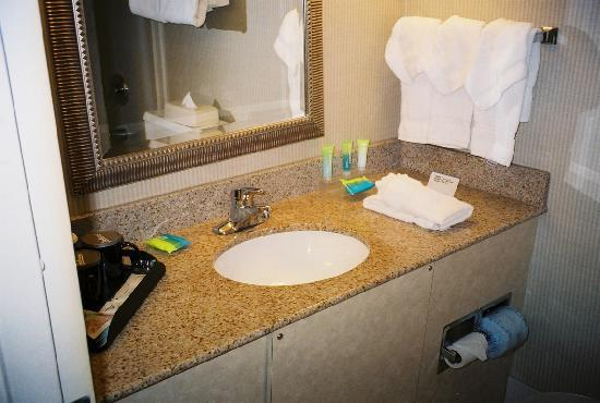 Radisson Hotel Philadelphia Northeast: Bathroom sink