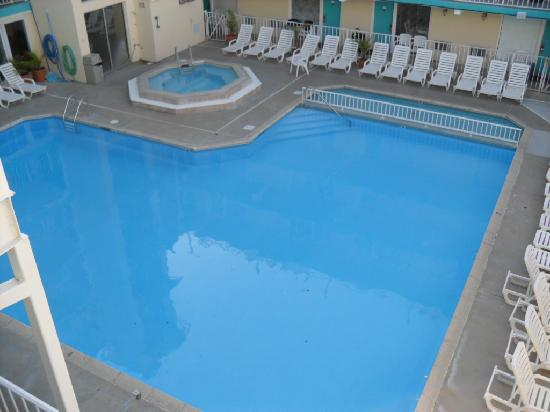 Wildwood Crest, Nueva Jersey: The pool