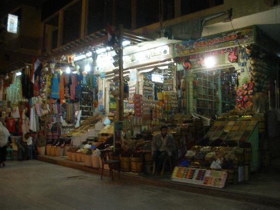 Assouan, Égypte : Souk Aswan