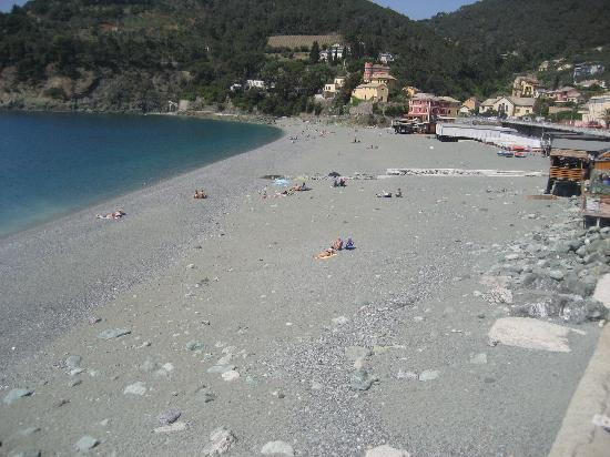 La Dolce Vita: The beach in  Bonassola