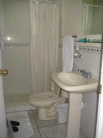 Hotel San Jose Hostal: Our Private Bathroom