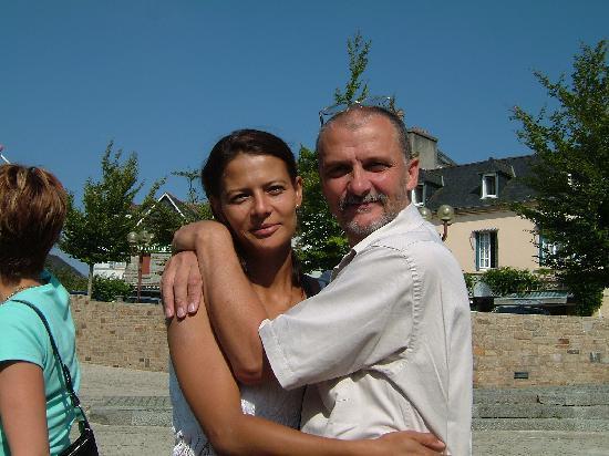 Le Blockhaus de Domleger : Angelique et Pierre