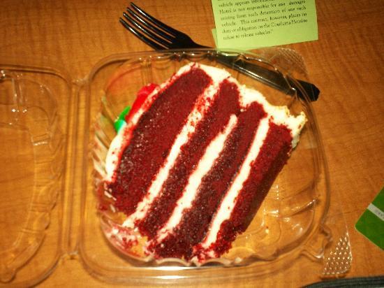Kinder, LA: Red Velvet Cake
