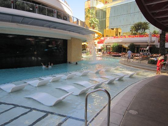 Swimming Pool Picture Of Golden Nugget Hotel Las Vegas Tripadvisor