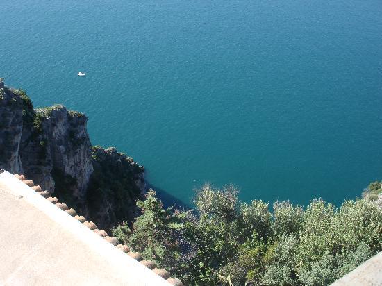 Hotel Margherita: ...veduta dalla terrazza