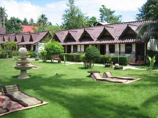 Phangan Cabana Resort: jardin