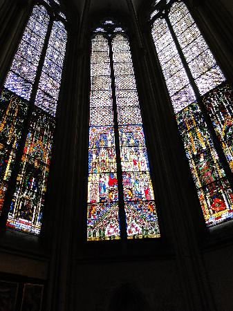 Cologne-katedralen: Stained glass