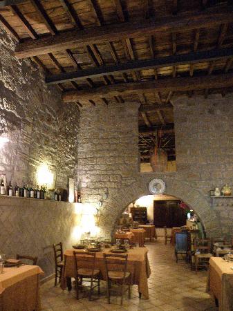 Sutri, Italy: inside