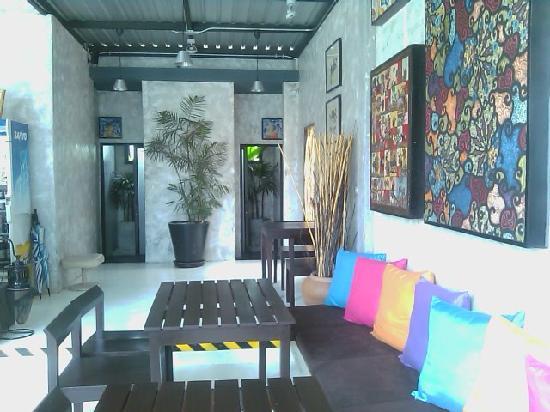Amara Resort Hua Hin: restauarnt/bar area