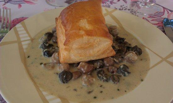 L'auberge La table gourmande de Christophe : escargot