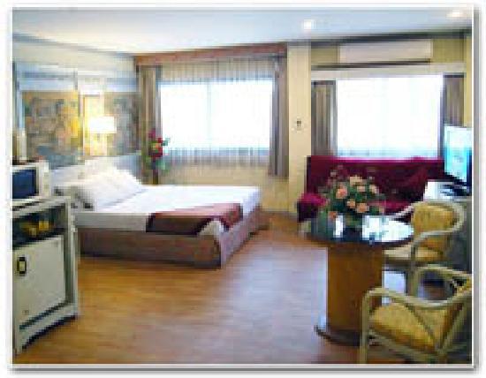 Pratunam City Inn: My room( De Luxe)