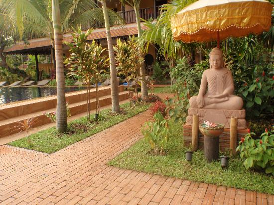 Siddharta Boutique Hotel: The garden