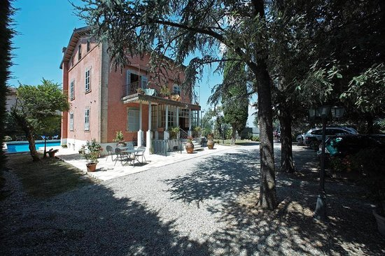 Villa Alba: Parcheggio