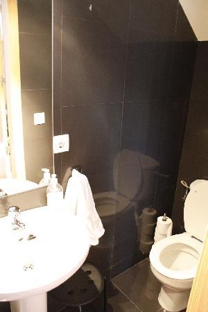 Apartamentos La Casa del Conde de Gelves : Downstairs toilet
