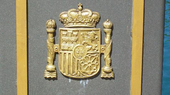 Ardales, España: Siegel des span. Königs