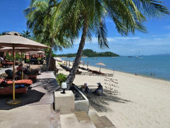 Bo Phut Resort & Spa: View from Resturant & Beach front