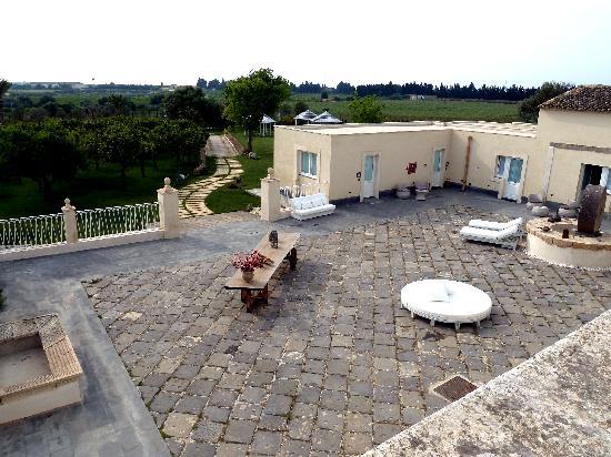 Hotel Borgo Pantano: Vista dalla terrazza della colazione