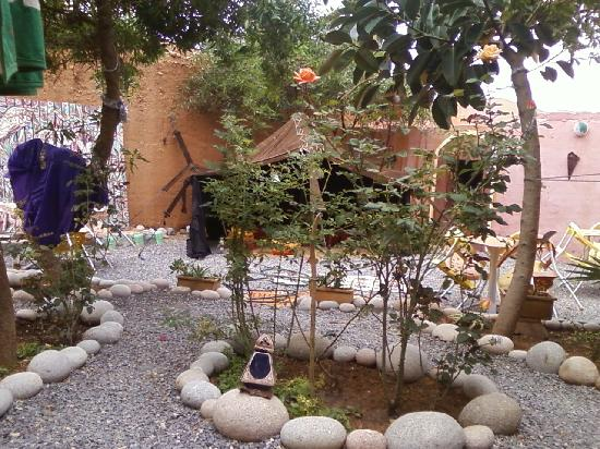 Auberge Cote Jardin: tente berbère