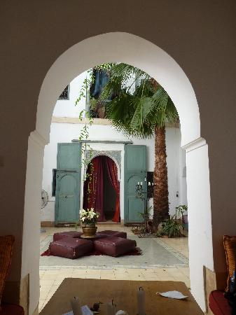 Dar Malak: The courtyard