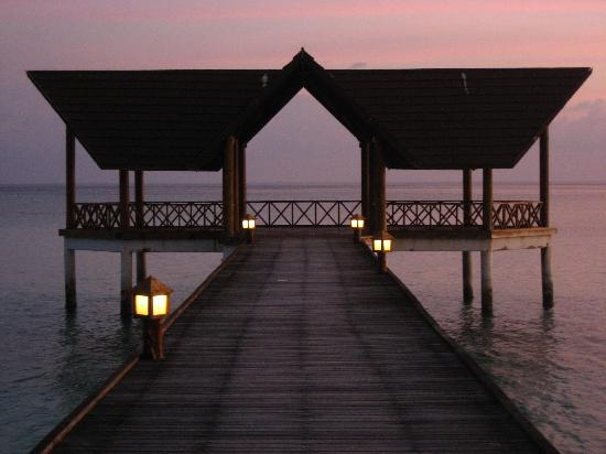 Palm Beach Resort & Spa Maldives: il mio pontile