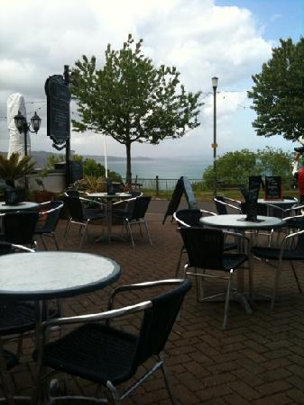 The Downs, Babbacombe: view from the restaurant