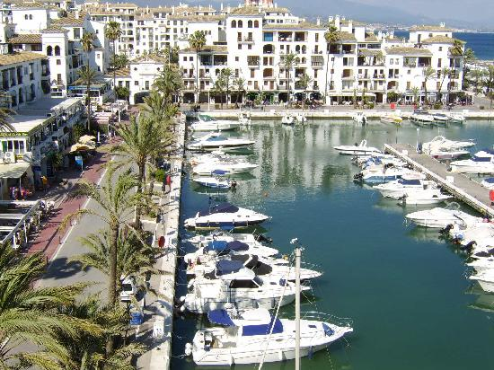 Puerto De La Duquesa Spain View From Marina Real Apartment